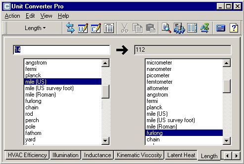 Main Window Unit Converter Pro